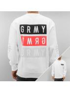 Grimey Wear Pullover Legion weiß