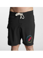 Grimey Wear Short de bain Stick Up noir