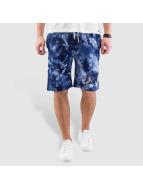 Grimey Wear Shorts y Beigns Tie Dye blu