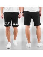 Grimey Wear Shorts Fuck Fame noir