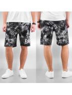 Grimey Wear shorts y Beigns Tie Dye zwart