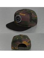 Grimey Wear Snapback Cap Smoky Alley camouflage