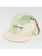 Grimey Wear Natural Camo Snapback Cap Camouflage