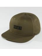 Grimey Wear Overcome Gravity Snapback Cap Olive