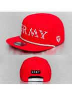 Grimey Wear Snapback Caps Lettering czerwony