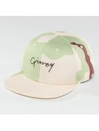 Grimey Wear Snapback Caps Natural Camo kamuflasje