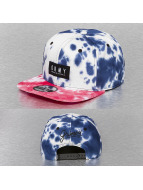 Grimey Wear Snapback Caps Nuyorican Tie Dye niebieski