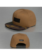 Grimey Wear Snapback Caps Core ruskea