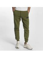 Grimey Wear Spodnie do joggingu Overcome Gravity oliwkowy