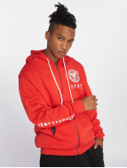 Grimey Wear Sweat capuche zippé Core rouge