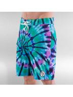 Grimey Wear Swim shorts Legion Tie Dye green