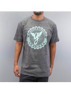 Grimey Wear T-Shirt Classic Logo gris