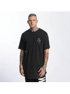 Grimey Wear T-shirt longoversize Hi Jack noir