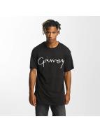 Grimey Wear T-shirt Natural svart