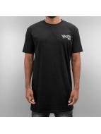 Grimey Wear t-shirt Fire Eater Long zwart