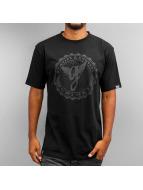 Grimey Wear t-shirt Logo zwart