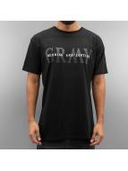 Grimey Wear t-shirt Mist Blues GRMY T zwart
