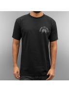 Grimey Wear T-Shirty Mist Blues B&L czarny