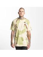 Grimey Wear T-Shirty Natural Camo moro
