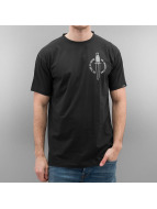 Grimey Wear T-skjorter Ten Stab Wounds svart
