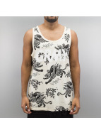 Grimey Wear Tank Tops Hunter бежевый
