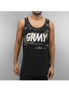 Grimey Wear Tank Tops Hunter musta