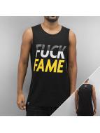 Grimey Wear Tank Tops Fuck Fame schwarz