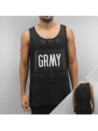 Grimey Wear Tank Tops Fidji schwarz