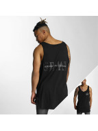 Grimey Wear Tanktop Mist Blues zwart