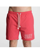 Grimey Wear Uimashortsit Rock Creek punainen