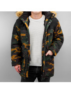 Grimey Wear Veste d'hiver Smoky Alley camouflage
