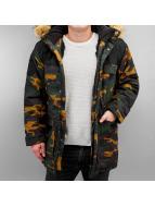 Grimey Wear Winterjacke Smoky Alley camouflage