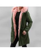 Hailys Зимняя куртка Ava Pop зеленый