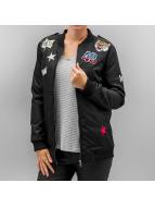 Hailys Куртка-бомбардир Romy Pop черный