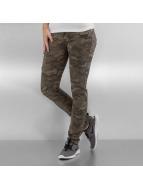 Hailys Облегающие джинсы Cammy Camou камуфляж