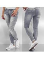 Hailys Облегающие джинсы Tamara серый