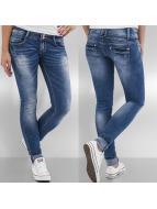 Hailys Облегающие джинсы Camila синий
