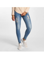 Hailys Облегающие джинсы Ilona синий