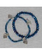 Hailys armband Chrissy blauw