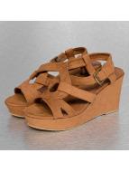 Hailys Badesko/sandaler Kate brun