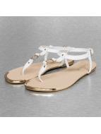 Hailys Badesko/sandaler Lea hvit