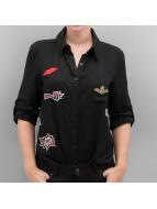 Hailys Blouse/Tunic Pat black