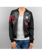 Hailys Bomber jacket Flash black