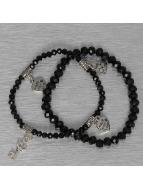 Hailys Bracelet Chrissy noir