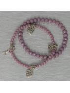 Hailys Bracelet Chrissy pourpre