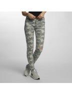Hailys Jeans slim fit Cami mimetico