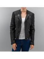 Hailys Leather Jacket Juna black