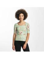 Hailys Pitkähihaiset paidat Rachel Flower vihreä