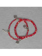 Hailys Pulsera Chrissy rojo