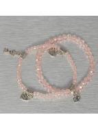 Hailys Rannekorut Chrissy roosa
